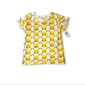 Mighty Fine Presents Pokémon Pikachu Juniors Tee